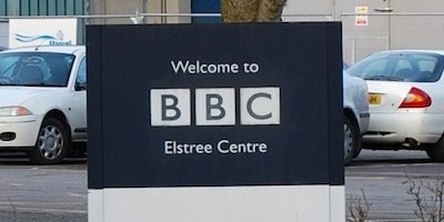BBC Elstree Centre Sign