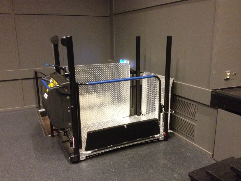 Mobilift - Portable Wheelchair Lift in Black