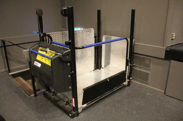 Mobilift - Mobile Wheelchair Lift with black finish